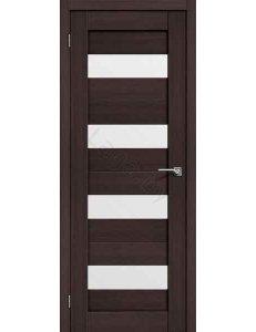Дверь межкомнатная экошпон Portas S23 Орех шоколад