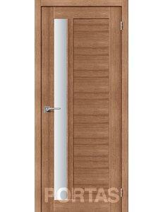 Дверь межкомнатная экошпон Portas S28 Орех карамель