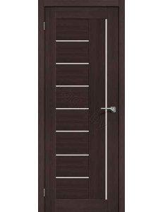 Дверь межкомнатная экошпон Portas S29 Орех шоколад