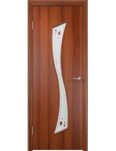Дверь межкомнатная МДФ Ламинированная ПО С19
