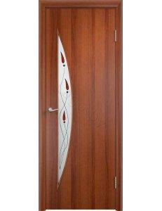 Дверь межкомнатная МДФ Ламинированная ПО С6