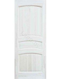 Дверь межкомнатная массив сосны ПМЦ Модель №16 Сосна неокрашенная