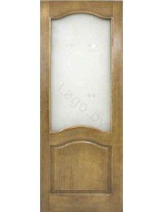 Дверь межкомнатная массив сосны ПМЦ Модель №7 ДО без рамки