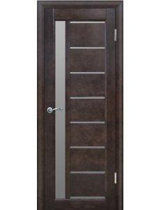 Дверь межкомнатная массив сосны Вилейка ЧО Вега 9 Венге