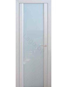 Дверь межкомнатная с ПВХ покрытием ПО Модерн Белый дуб Сатин