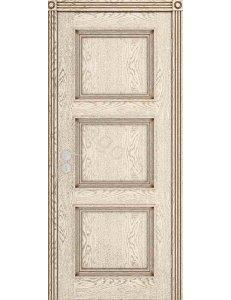 Дверь межкомнатная шпонированная Квадро ДГ под заказ