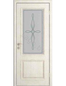 Дверь межкомнатная шпонированная Шервуд 2 ДО
