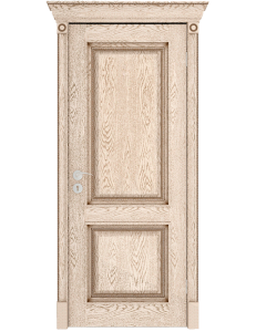 Дверь межкомнатная шпонированная Валенсия ДГ