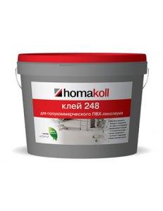 Клей homakoll 248 4 кг для полукоммерческого линолеума.