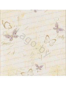 Панель ПВХ Бабочки Сиреневые
