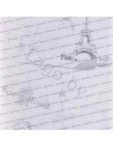 Панель ПВХ Париж Серый