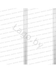 Панель ПВХ Потолочная 2-х секц. Серебро