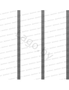 Панель ПВХ Потолочная 3-х секц. Серебро