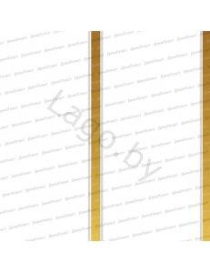 Панель ПВХ Потолочная 2-х секц. Золото