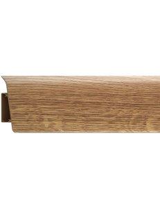 Плинтус (с кабель-каналом) RICO Royal №217 Дуб роял (2,5м x 76мм)