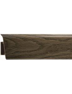 Плинтус (с кабель-каналом) RICO Royal №281 Дуб аризонский (2,5м x 76мм)
